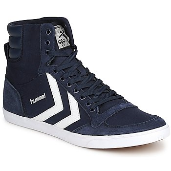 Schoenen Hoge sneakers Hummel TEN STAR HIGH CANVAS Marine