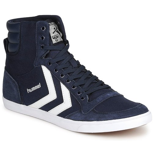 Schoenen Hoge sneakers Hummel TEN STAR HIGH CANVAS Marine