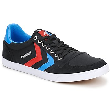 Schoenen Lage sneakers Hummel TEN STAR LOW CANVAS Zwart