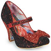 Schoenen Dames pumps Irregular Choice FANCY THAT Zwart / Rood