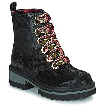Schoenen Dames Laarzen Irregular Choice MORNING STROLL Zwart