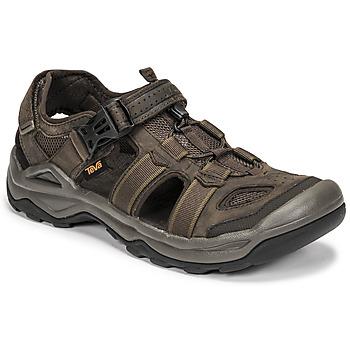 Schoenen Heren Sandalen / Open schoenen Teva M OMNIUM 2 LEATHER Brown