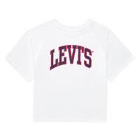 Textiel Meisjes T-shirts korte mouwen Levi's SSRGLANHGHRISETESHIRT Wit