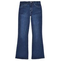 Textiel Meisjes Bootcut jeans Levi's HIGHRISECROPFLARE Blauw