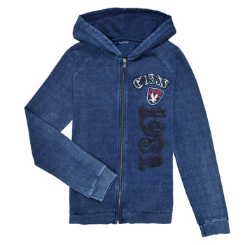 Textiel Jongens Sweaters / Sweatshirts Guess TRAMI Blauw
