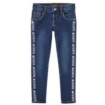 Textiel Meisjes Skinny jeans Guess PALINCA Blauw