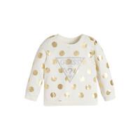Textiel Meisjes Sweaters / Sweatshirts Guess KUBLO Wit