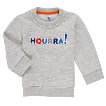 Textiel Jongens Sweaters / Sweatshirts Petit Bateau TERRI Grijs