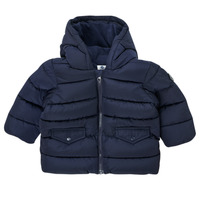 Textiel Jongens Dons gevoerde jassen Petit Bateau COLINE Blauw