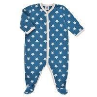 Textiel Jongens Pyjama's / nachthemden Petit Bateau SOLARIE Blauw / Wit