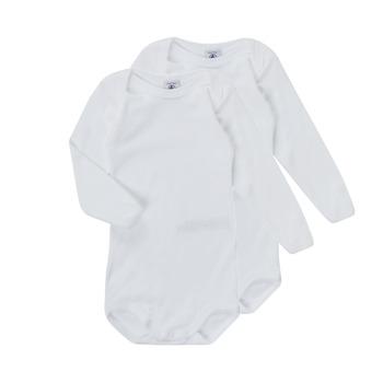 Textiel Kinderen Pyjama's / nachthemden Petit Bateau TESSA Wit