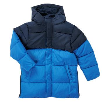 Textiel Jongens Parka jassen Petit Bateau KAYS Blauw