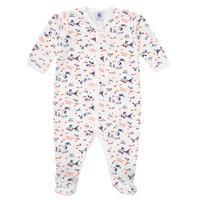 Textiel Meisjes Pyjama's / nachthemden Petit Bateau LEA Multicolour