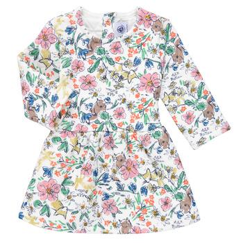 Textiel Meisjes Korte jurken Petit Bateau ROPPAL Multicolour