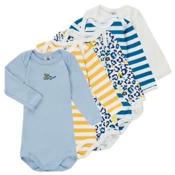 Textiel Jongens Pyjama's / nachthemden Petit Bateau FEDDY Multicolour