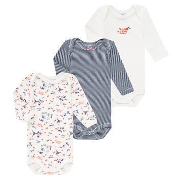 Textiel Meisjes Pyjama's / nachthemden Petit Bateau FERY Multicolour
