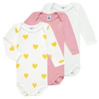 Textiel Meisjes Pyjama's / nachthemden Petit Bateau GRELOU Multicolour