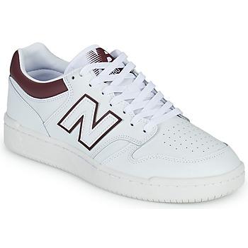 Schoenen Heren Lage sneakers New Balance 480 Wit / Bordeaux