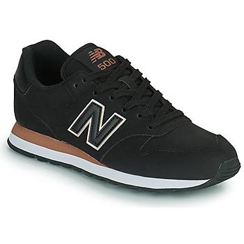 Schoenen Dames Lage sneakers New Balance 500 Zwart