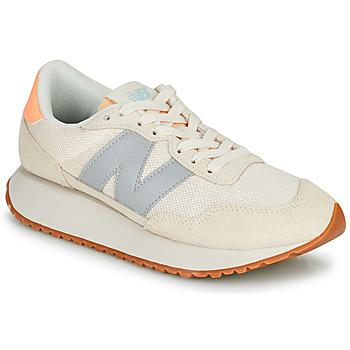 Schoenen Dames Lage sneakers New Balance 237 Beige
