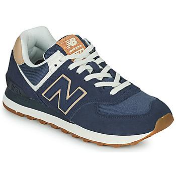 Schoenen Dames Lage sneakers New Balance 574 Blauw