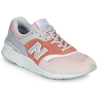 Schoenen Dames Lage sneakers New Balance 997 Roze / Grijs