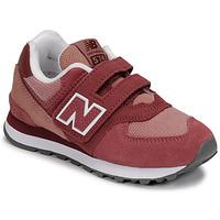Schoenen Meisjes Lage sneakers New Balance 574 Roze