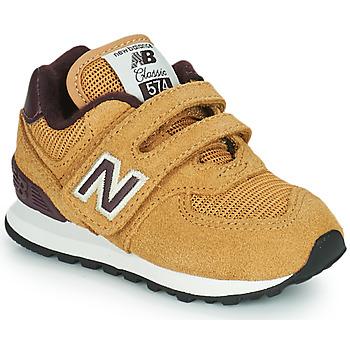 Schoenen Jongens Lage sneakers New Balance 574 Brown