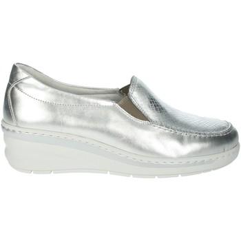 Schoenen Dames Mocassins Notton 2404 Silver