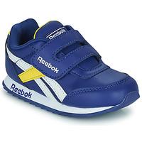 Schoenen Kinderen Lage sneakers Reebok Classic REEBOK ROYAL CLJOG 2  KC Blauw / Geel / Wit