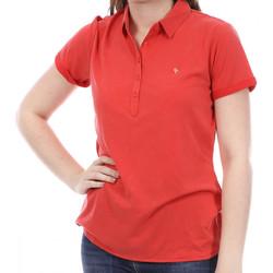 Textiel Dames Polo's korte mouwen Sun Valley  Rood