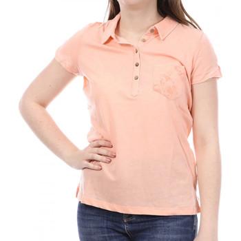 Textiel Dames Polo's korte mouwen Sun Valley  Orange
