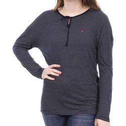 Textiel Dames T-shirts met lange mouwen Sun Valley  Blauw