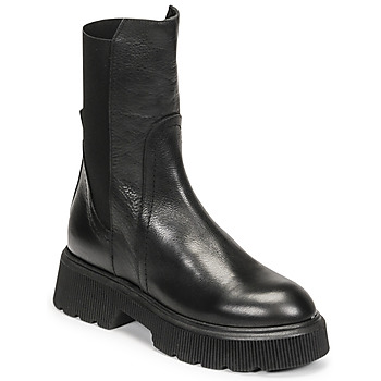 Schoenen Dames Enkellaarzen Mimmu VITELLO Zwart