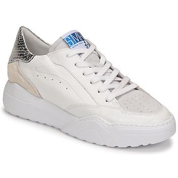 Schoenen Dames Lage sneakers Semerdjian TANY Wit / Zilver
