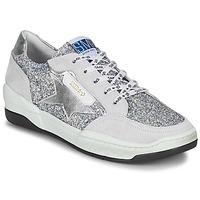 Schoenen Dames Lage sneakers Semerdjian CHLO Zilver / Beige