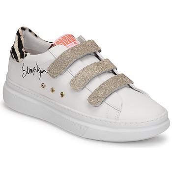 Schoenen Dames Lage sneakers Semerdjian BARRY Wit / Goud
