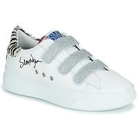 Schoenen Dames Lage sneakers Semerdjian BARRY Wit / Zilver