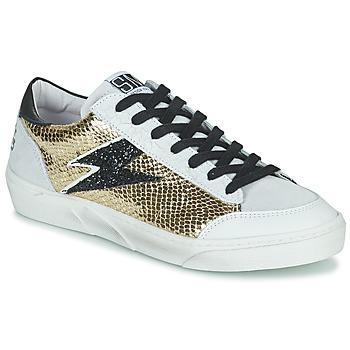 Schoenen Dames Lage sneakers Semerdjian ELISE Beige / Goud / Zwart