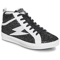 Schoenen Dames Hoge sneakers Semerdjian ALFA Zwart / Wit