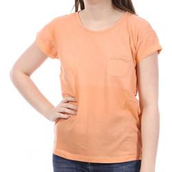 Textiel Dames T-shirts korte mouwen Sun Valley  Orange