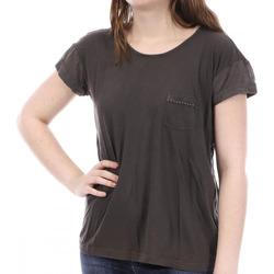Textiel Dames T-shirts korte mouwen Sun Valley  Brown