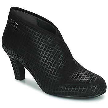 Schoenen Dames Low boots United nude FOLD MID Zwart