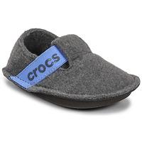 Schoenen Kinderen Sloffen Crocs CLASSIC SLIPPER K Grijs / Blauw