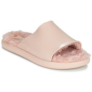 Schoenen Dames Slippers Melissa MELISSA FLUFFY SIDE AD Roze