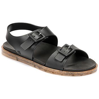 Schoenen Dames Sandalen / Open schoenen Melissa MELISSA WIDE SANDAL AD Zwart