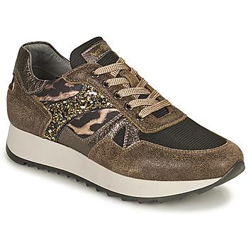 Schoenen Dames Lage sneakers NeroGiardini AVOCATO Kaki / Leopard