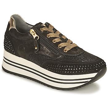 Schoenen Dames Lage sneakers NeroGiardini CAROTTO Zwart