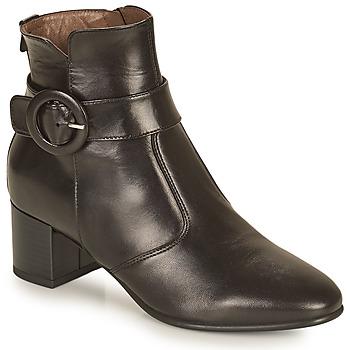 Schoenen Dames Enkellaarzen NeroGiardini BLETTO Zwart