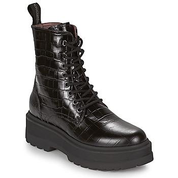 Schoenen Dames Laarzen NeroGiardini CATALONIO Zwart